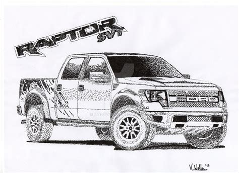 Ford Raptor Coloring Pages Coloring Pages Ford Raptor Template