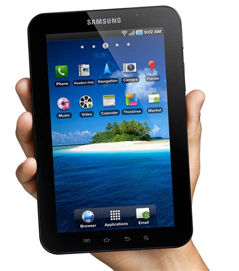 samsung introduces 7 inch tablet to rival wired