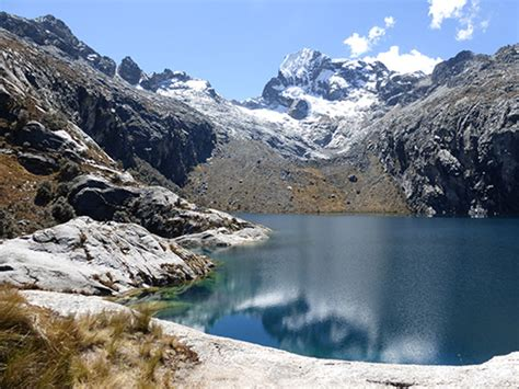 Laguna In For 3 Days by Quebrada Quillqueyhuanca And Laguna Churup 3 Days