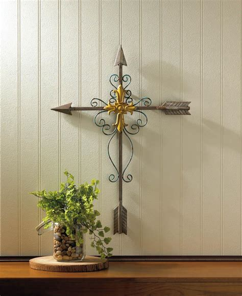 Wholesale Crosses Home Decor by Crossed Arrow Wall Cross Wholesale At Koehler Home Decor