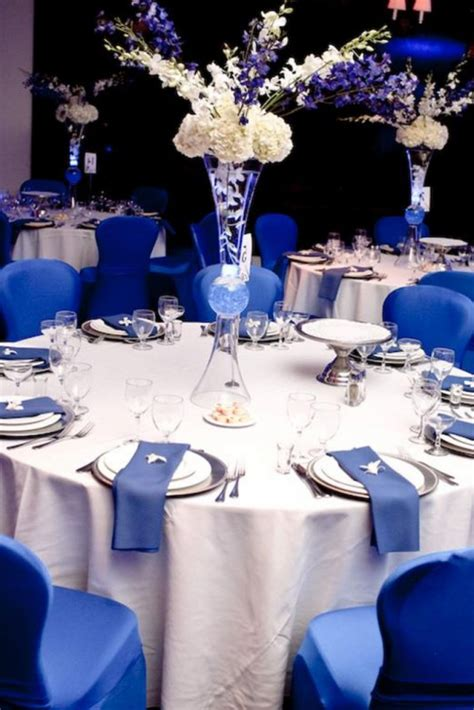 royal blue and white wedding centerpieces royal blue wedding decorations 28 images blue and