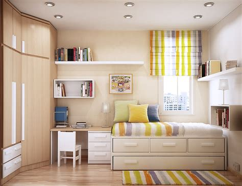 Bedroom Ideas For Small Spaces by Http Www Kickrs Modern Small Rooms Space Saving