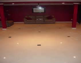 custom basement floor installation travertine installers suwanee ga and alpharetta ga