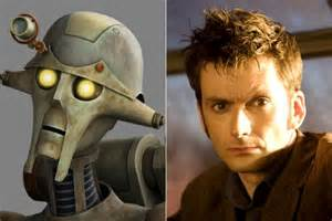 david tennant star wars doctor who to guest on star wars the clone wars