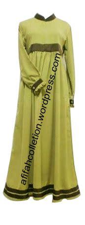 Sm 13 Set Biru Tua gamis kombinasi hijau muda afifah collection