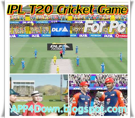 ipl cricket game for pc free download full version download free dlf ipl t20 cricket game 2014 for pc