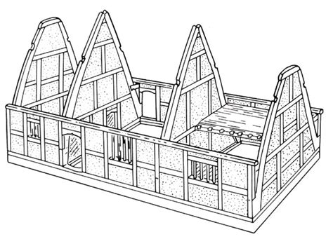 Courtyard Homes Floor Plans by Peasant Houses In Midland England Current Archaeology