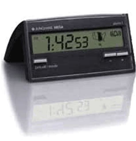 junghans mega radio controlled desk alarm clock made in