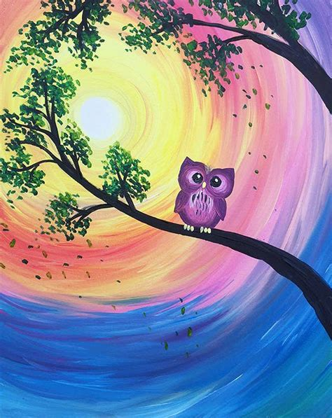 paint nite owl paint nite owl day
