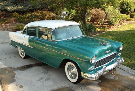 1955 Chevy Belair 4 Door by 1955 Chevrolet Bel Air 4 Door Sedan Ca Car Rust Free