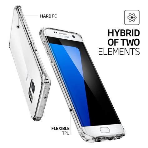 Laris Spigen Samsung Galaxy S7 Edge Ultra Hybrid spigen 174 ultra hybrid 556cs20034 samsung galaxy s7 edge