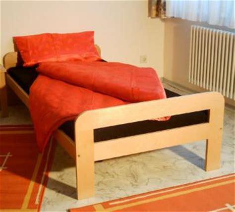bett kaufen 100x200 einzelbett bett g 228 stebett 100x200 buche massiv natur
