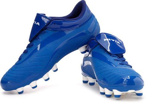 nivea football shoes nivia weapon football shoes buy blue color nivia weapon