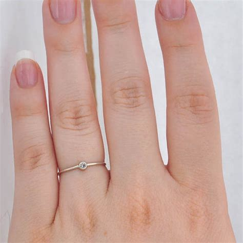 Small Tiny Engagement Rings ? Engagement Rings Depot