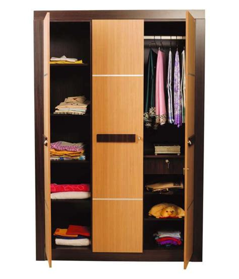 Wardrobes On Line by Nilkamal Cedar 3door Wardrobe Buy At Best Price In