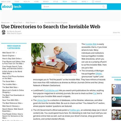 Invisible Web Search Invisible Web Directory Search The Invisible Web With A Web Directory Pearltrees
