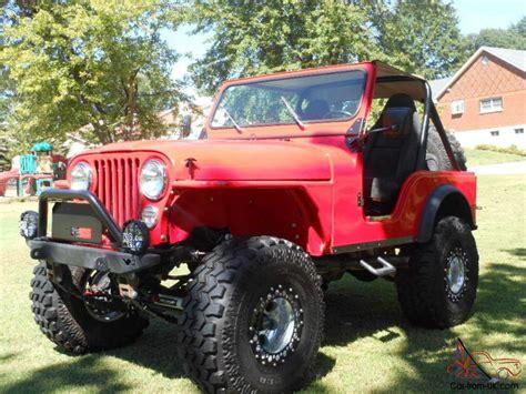 cj jeep lifted 1979 jeep cj5 lifted frame off cj 5 w flat fender rock