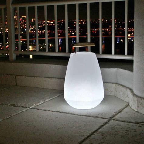 Rechargeable Outdoor Lighting Space Lighting Rechargeable Vessel Patio Lights Outdoor Light Homeinfatuation