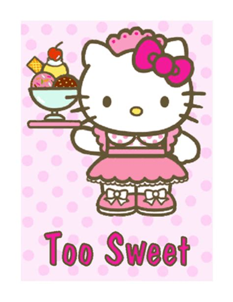 hello kitty printable greeting cards hello kitty birthday cards printable