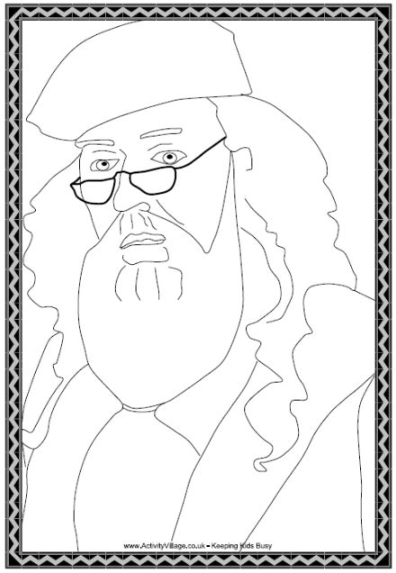 harry potter coloring pages dumbledore dumbledore colouring page
