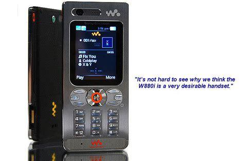 Shiny Review Sony Ericsson W880i by Looks Sony Ericsson W880i 3g Walkman Phone
