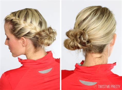 short hair styles for gym workouts 5 workout hairstyles twist me pretty