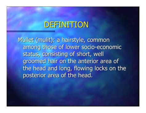 haircuts economics definition the mullet