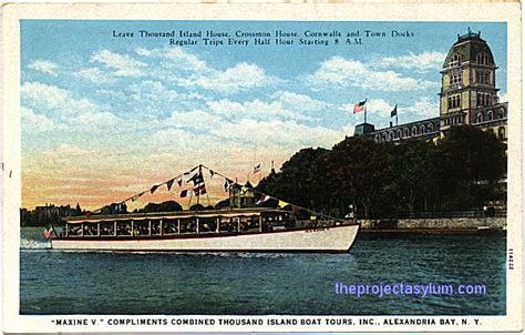 thousand islands boat tours thousand island boat tours alexandria bay n y