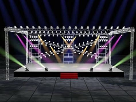 stage layout maker concert aluminum stage truss tower with roof stage 760mm x