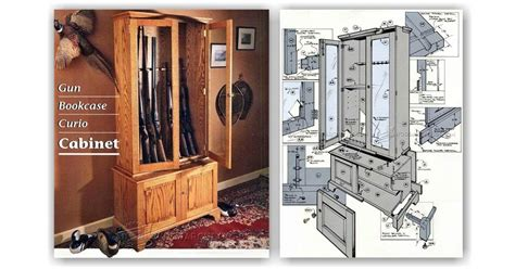 free woodworking plans gun cabinet gun cabinet plans woodarchivist