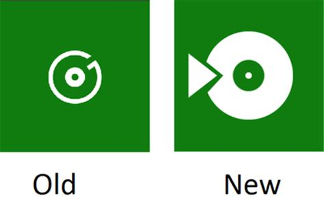 microsoft's groove music may be getting a new, better logo