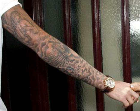 mandala tattoo znacenje the secrets of beckham s amazing tattoo daily mail online