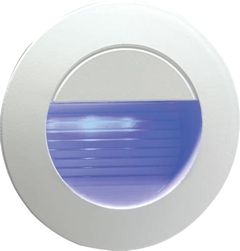 12 blue led indoor outdoor stair wall light blue led knightsbridge nh020b 230v