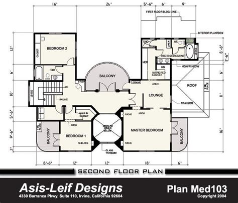 mediterranean floor plans 171 unique house plans