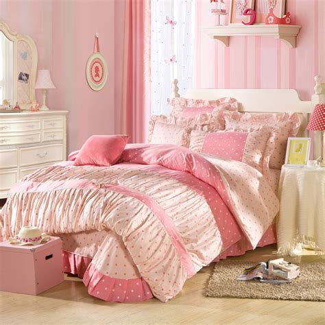 pink princess comforter sets popular ruffled bedding set buy cheap ruffled bedding set