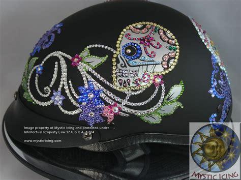 helmet design vinyl top 25 ideas about custom bling helmets blinged helmets