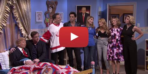 full house cast reunites on tonight show with donald trump