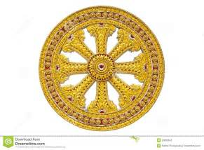 wheel of dhamma of buddhism stock images image 20633564