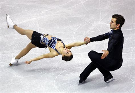 ice skateing duos canadian dance duo first after show stopping routine