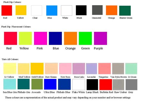 plastic dip colors colors images search