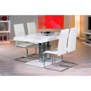 table de cuisine blanc palaz prix