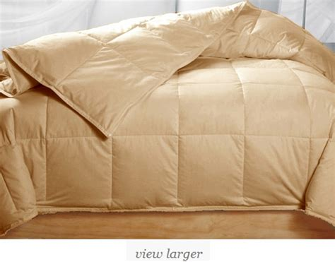 beige down comforter queen gold beige feather down comforter only 59 99