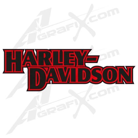 Cutting Sticker Harley Davidson 3 black harley davidson decal harley davidson tank