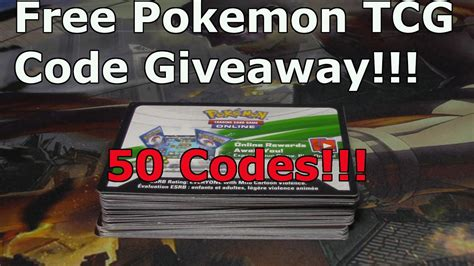 Free Pokemon Giveaway - free pokemon tcg code giveaway 2017 youtube