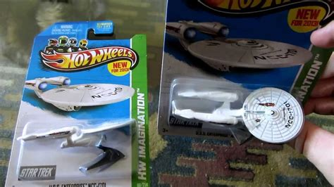 Hotwheels Seri Startrek wheels trek uss enterprise ncc 1701 battle damaged review unboxing