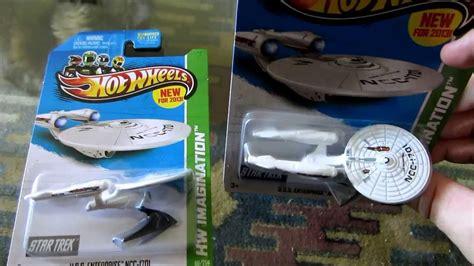 Uss Enterprise Ncc 1701 Startrek Uss Trek Hotwheels Hw 2015 wheels trek uss enterprise ncc 1701 battle damaged review unboxing