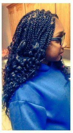 braids that are curly at the ends box braids with curly ends keala s kreative braids