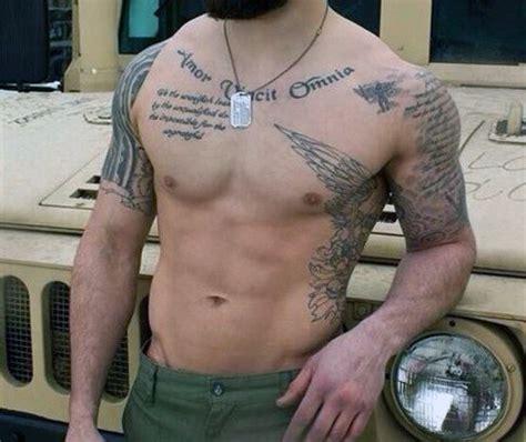 rib tattoos men quotes