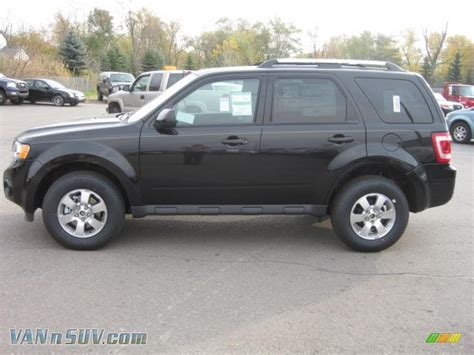 2011 Ford Escape Limited by 2011 Ford Escape Limited V6 4wd In Tuxedo Black Metallic