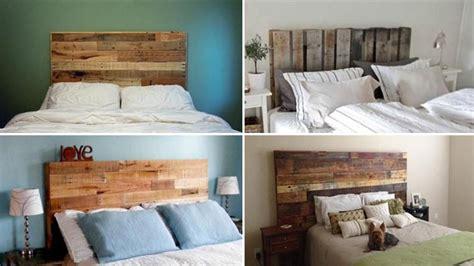 testate letto offerte testate letto economiche in pallet di legno bcasa